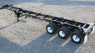 40ft Tri Axle Intermodal Chassis