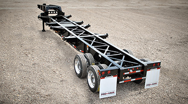 40ft Widespread Axle Sand Chassis