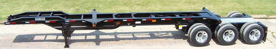 Tri Axle Chassis : Ft tri axle intermodal chassis pro haul quality